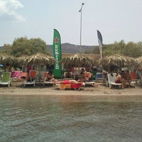 Photo taken at Sabbia Beach Bar by Vironas S. on 6/30/2013