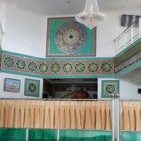 Photo taken at Mesjid Kantor Gubernur Prov.Riau by Hed N. on 12/24/2013
