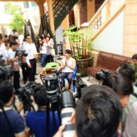 Photo taken at คณะบัญจบเบญจมา by รองเท้า ค. on 7/27/2015