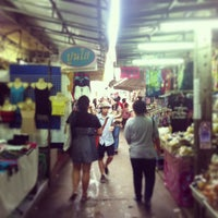 Photo taken at Wang Lang Market by รองเท้า ค. on 7/21/2013