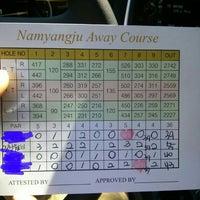 Photo taken at 마스터 골프 클리닉 by Sangwon K. on 7/4/2014