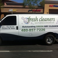 Photo taken at Fresh Cleaners by Fresh Cleaners on 7/9/2013