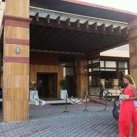 Photo taken at Ambassador Hotel Thessaloniki by Δημήτριος-Γεώργιος Π. on 6/16/2013