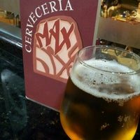 Photo taken at Cerveceria Max by Miguel A. I. on 8/1/2013
