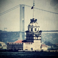 Photo taken at Maiden's Tower by Elçin B. on 7/10/2013