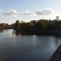 Photo taken at Marenplan by Ertan E. on 10/11/2014