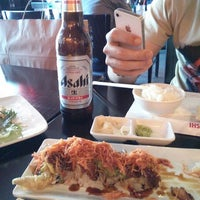 Photo taken at Crazy Rock'N Sushi by Arturo on 6/8/2013