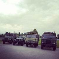 Photo taken at The Bauska Branch of the Riga Motor Museum by Arturs A. on 7/24/2013
