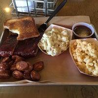 Photo taken at Roscoe's Smokehouse by David P. on 9/14/2015