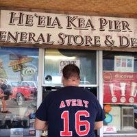 Photo taken at He'eia Pier General Store & Deli by Aarash F. on 1/3/2014