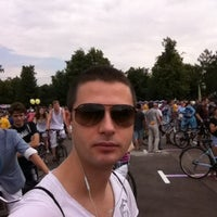 Photo taken at ВелоPride by Denis K. on 6/16/2013
