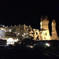 12/9/2014 tarihinde ひろみんziyaretçi tarafından Göreme Kaya Hotel'de çekilen fotoğraf
