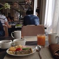 Photo taken at Novosibirsk Marriott Hotel by Katerina Z. on 8/23/2014