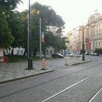 Photo taken at Hlavní nádraží (tram) by Gita on 7/20/2013