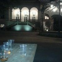 Photo taken at Letná Beer Garden by Gita on 7/2/2013