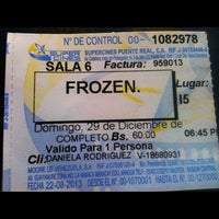 Photo taken at Super Cines - Puente Real by Christian L. on 12/30/2013