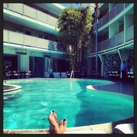 Photo taken at Avalon Hotel Beverly Hills by Maria Alejandra Q. on 6/16/2013