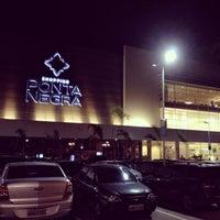 Photo taken at Shopping Ponta Negra by Crys C. on 10/9/2013