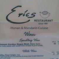 Photo taken at Eric's Restaurant by Razi S. on 6/14/2013