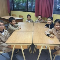 Photo taken at Andrée English School by Sylvia S. on 3/5/2015