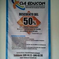 Photo taken at cia educon by Mauricio V. on 6/4/2013