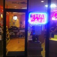 Photo taken at Thai Cafe by Greg G. on 7/20/2013