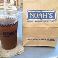Photo taken at Noah's Bagels by Emma L. on 9/20/2014