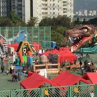 Photo taken at Tsing Yi Sports Centre 青衣體育館 by Sheep C. on 12/30/2017