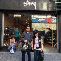 Photo taken at Stussy New York by Ryohei F. on 9/28/2014
