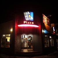 Photo taken at Mamamia Pizza Playas by Jean-Pierre L. on 10/4/2016