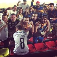 Photo taken at Estadio Morelos VIP by Eduardo V. on 9/12/2016