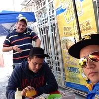 Photo taken at Tacos El Wero Cervezantes by Eduardo V. on 11/16/2014