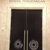 Photo taken at Istana Kehakiman (Palace of Justice) by Chris M. on 6/13/2013