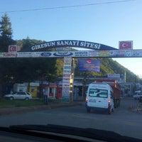 Photo taken at Giresun Otomobil Sanayi by Ertuğrul K. on 9/26/2013