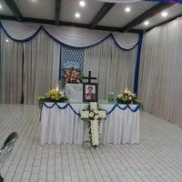 Photo taken at Rumah Duka Abadi by Ronny L. on 10/10/2014