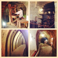 Photo taken at Pilsen historical underground by Svetlana K. on 5/8/2014