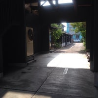Photo taken at 町家交流館高田小町 by kaz on 7/11/2014