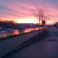 Photo taken at Kanaal Leuven - Dijle by Ignace L. on 12/14/2012