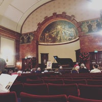 Photo taken at Wigmore Hall by Marc R. on 9/11/2016