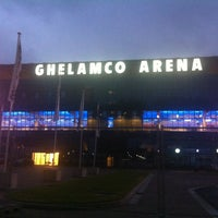 Photo taken at Ghelamco Arena by Nick V. on 8/7/2013