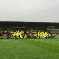 Photo taken at Herman Vanderpoortenstadion | Het Lisp by Maarten G. on 4/26/2015