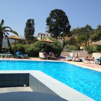 Photo taken at Samian Blue Hotel by Alexandros B. on 8/13/2013