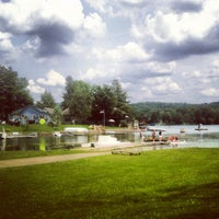 Photo taken at Glendening Boathouse by Rachel E. on 6/22/2013