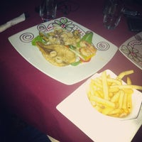 Photo taken at Scampi's Curacao by Christ I. on 3/3/2013