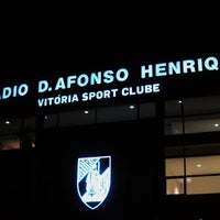 Photo taken at Estádio D. Afonso Henriques by Jaime M. on 2/6/2013