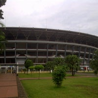 Photo taken at Stadion Utama Gelora Bung Karno (GBK) by Azis T. on 6/12/2013