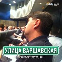 Снимок сделан в Конгесс-зал гостиницы Пулковская пользователем Елистратов А. 4/10/2013