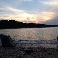 Photo taken at Cedar Beach by Rachel W. on 8/17/2013