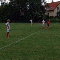 Photo taken at Rødovre Stadion by Nicolaj F. on 6/14/2014