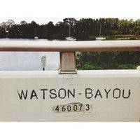 Photo taken at Watson Bayou by Kristina on 7/29/2013
